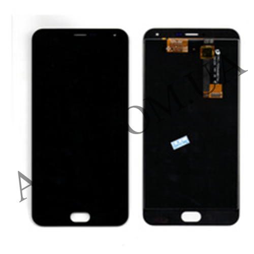 Дисплей (LCD) Meizu M2 Note with touch screen black