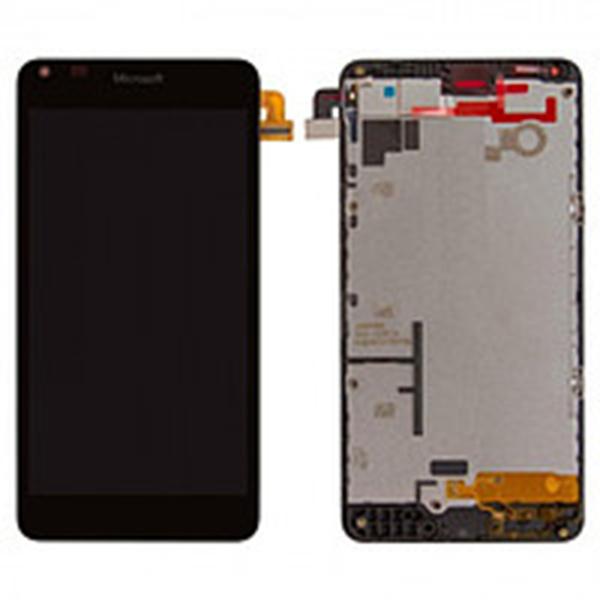 39da0e2cee83 Дисплей (LCD) Microsoft 640 Lumia (RM-1077) с сенсором чёрный + рамка  оригинал