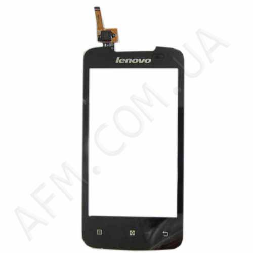Touch screen (Sensor) Lenovo A390 black (6 pin)