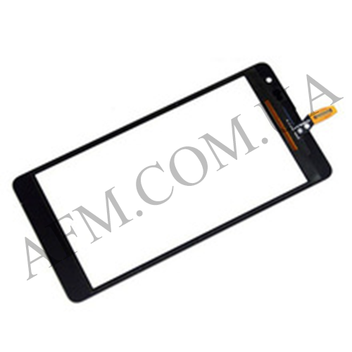Сенсор (Touch screen) Microsoft 535 Lumia Dual SIM (ct2S) чёрный оригинал
