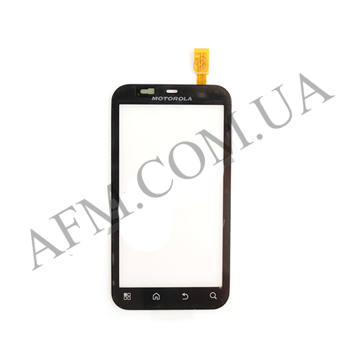 Сенсор (Touch screen) Motorola MB525 Defy/ MB526 чёрный