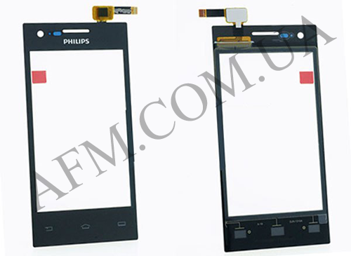 Сенсор (Touch screen) Philips S309 Dual Sim чёрный