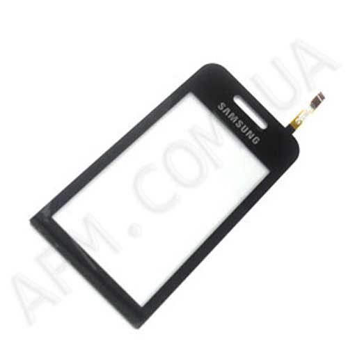 Touch screen (Sensor) Samsung S5230 Star black с самоклейкой