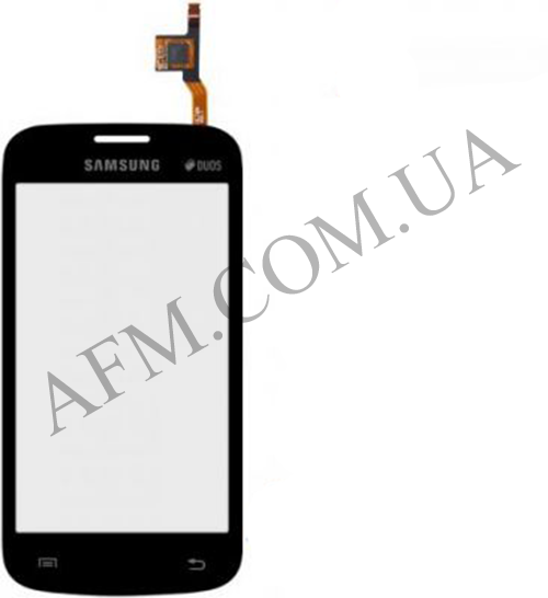 Сенсор (Touch screen) Samsung S7260/ S7262 чёрный
