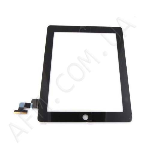 Touch screen (Sensor) iPad 2 black (с кнопкой home)
