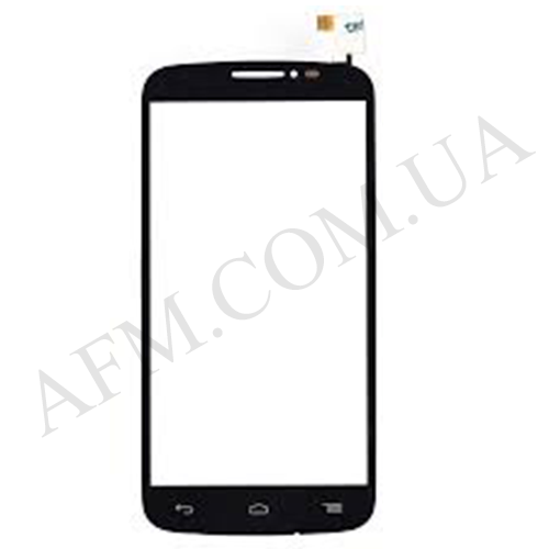 Сенсор (Touch screen) Alcatel 7040D/ 7041D One Touch Pop C7 чёрный